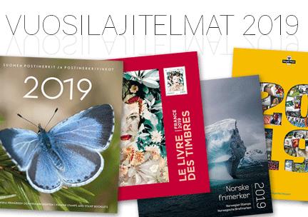 Vuosilajitelmat ja –kirjat 2019
