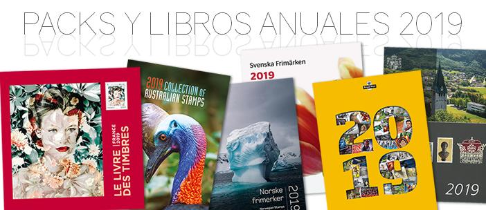 Packs y libros anuales 2019