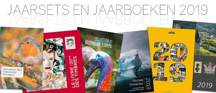 Jaarsets en Jaarboeken van 2019