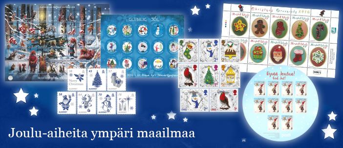Joulu-aiheita ympäri maailmaa