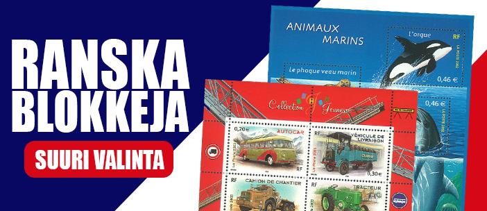 Ranska - Postituore blokki
