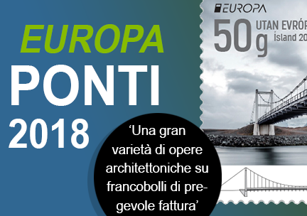 Europa ponti francobolli